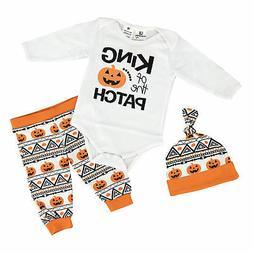Baby Boys Halloween Layette Set Boutique Newborn Infant Clot