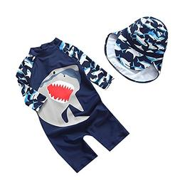 Collager Baby Boys One Piece Swimsuit Toddler UV Sun Protect