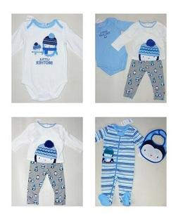 Gymboree Baby Boys Penguin Leggings Top Socks  Newborn 6-12