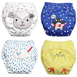 Baby Boy's Training Pants Toddler Potty Cotton Pants Cloth