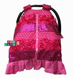 Premium Carseat Canopy Cover Nursing Cover Baby Shower Gift4
