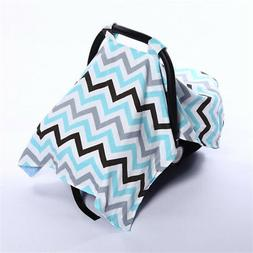Baby Car Seat Cover Extra Large Unisex Nursing Fine Shade In