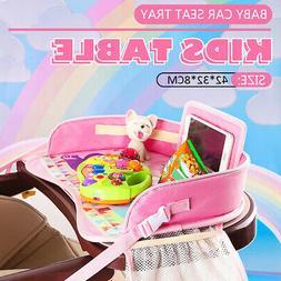 Baby Car Seat Travel Play Tray Kids Activity Tray Table Todd