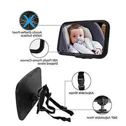 Baby Car  Wide View Mirror Baby Safety Seats Mirror Car Shat
