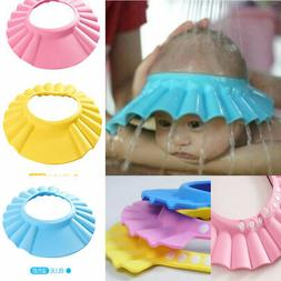 Baby Children Kids Safe Shampoo Bath Bathing Shower Cap Hat