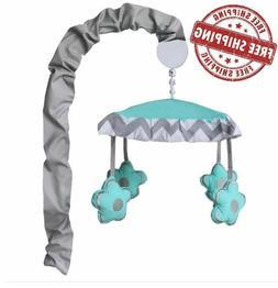 Baby Crib Bedding Set Toddler Newborn Toy Elephant Turquoise