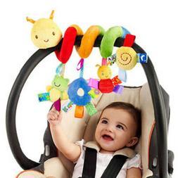 Baby Crib Cot Pram Hanging Rattles Spiral Stroller Lovely Ca