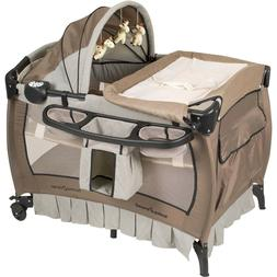 Baby Crib Nursery Playard Infant Changing Parent House Bassi