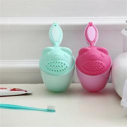 Baby Cute Spoon Shower Bath Water Swimming Bailer Shampoo Cu