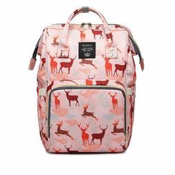 LEQUEEN Baby Diaper Bag Multi-Function Baby Diaper Backpack