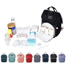 Baby Diaper Bag Waterproof Mummy Nappy Travel Feeding Backpa