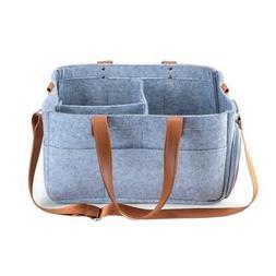 Baby Diaper Caddy, Nursery Diaper Tote Bag, Large Portable C
