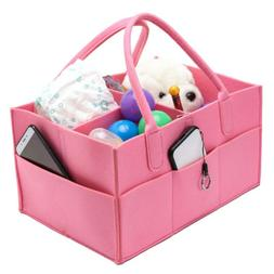 Baby Diaper Caddy Nursery Storage Baby Organizer Basket Napp