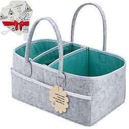 Baby Diaper Caddy Organizer - Shower Registry Gift Basket wi