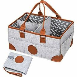 Baby Diaper Caddy Organizer Stackers & Caddies With Portable