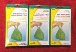 Baby Diaper Disposable Bags Sacks Tie Close Handles -Scented