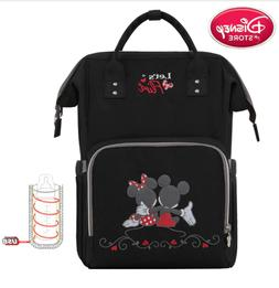 Disney Baby Diaper Nappy Mummy Changing Bag Backpack Set Tra