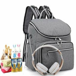 Baby Diaper Nappy Tote Mummy Changing bag Backpack Set Multi