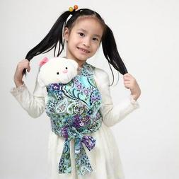 Baby Doll Carrier Mei Tai Sling Toy Kids Children Toddler Pa