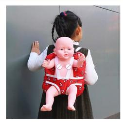 Baby Doll Carrier Toys Bags Storage Backpack Carrying Dolls