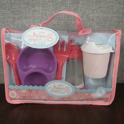My Sweet Love Baby Doll Feeding Set- 6 Pieces