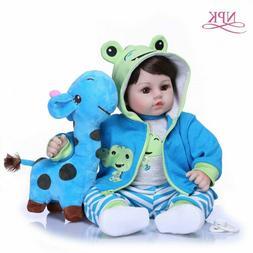 Baby Dolls Soft Silicone Body Cloth Doll For Girls Princess