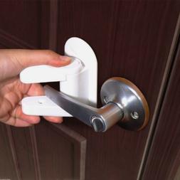 Door Lever Lock Safety Child Proof Doors Adhesive Lever Hand