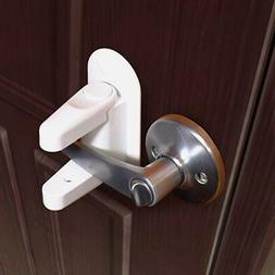 Baby Door Lever Lock Child Toddler Proof Safety Doors Handle
