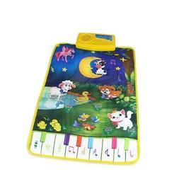 Baby Early Education Animal Music Carpet Kids Musical Crawl