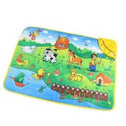 Baby Early Education Animal Music Carpet Kids Musical Crawl