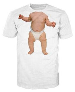 Baby Face Funny Joke Prank Anger Management Spoof T-shirt