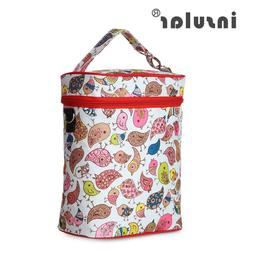 Baby Feeding Bottle Insulation Bag Thermal Diaper Nappy Chan