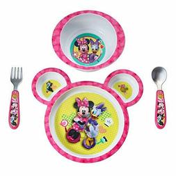 Baby Feeding Set First Year Disney MinnieMouse Sectioned pla