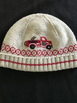 Janie and Jack Baby Fire Engine Hat - 0-6 Months
