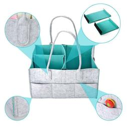 Foldable Felt Diaper Bag Baby Clothes Kids Toys Organizer Mo