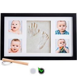 Little Hippo Baby Footprint & Handprint Kit - Baby Picture F