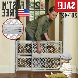 Baby Gates Safety For Stairs Child Extendable Wide Indoor Ta