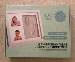 SGI Depot Baby Gifts Baby Hand and Footprint Kit Picture Fra
