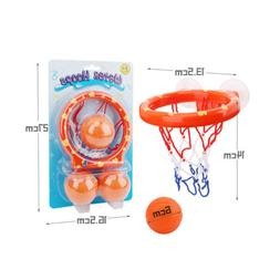 Baby Girl Boy Kids Bath Toys Basketball Hoop & Ball Bathtub