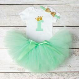 Baby Girl Clothes 2018 Summer Girls Clothing Sets 1st Birthd