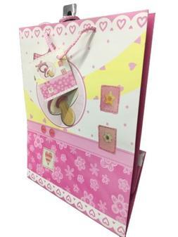 Baby Girl Shower Gift Bag