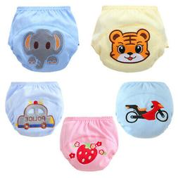 Baby Girls Boys Leakproof Nappy Diaper Toddler Reusable Pee
