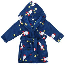 Baby Girls Kids Boy Soft Night Bath Robe Sleepwear Homewear