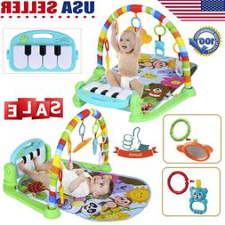 Baby Gym Floor Play Mat Activity Center Kick and Play & Sit