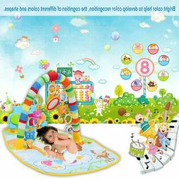 Baby Gym Lay&Play Mat 3-in-1 Fitness Music & Lights Fun Pian