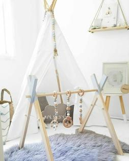 Baby Gym shelf Wooden Nordic Nursery Scandinavian Style Play