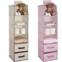 Baby Hanging Closet Storage Portable Clothing Organizer Shel