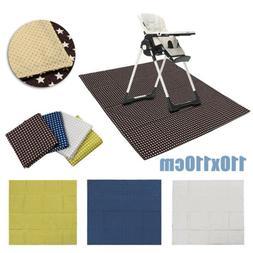 Baby High Chair Floor Mat Infant Toddler Feeding Table Toys