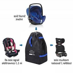 Car Seat Travel Bag , Carseat Carrier - Ideal for Airplane a