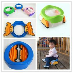 Baby Infants Folding Toilet Pot Travel High Quality Camping